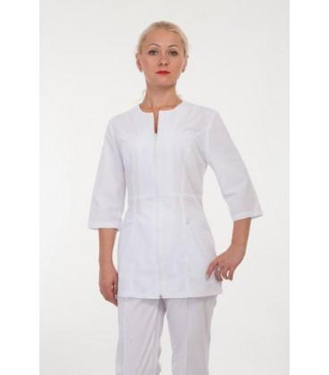 Медицинский женский костюм белый 2282