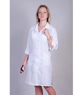 Медицинский женский халат прямой 1120