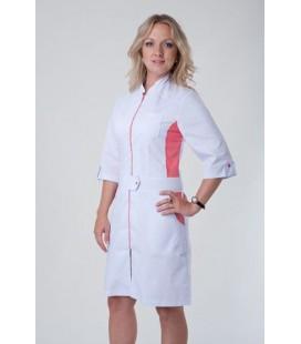 женский медицинский халат со вставками Х-3114
