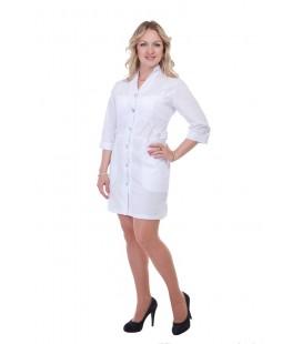 белый медицинский халат Х-2154