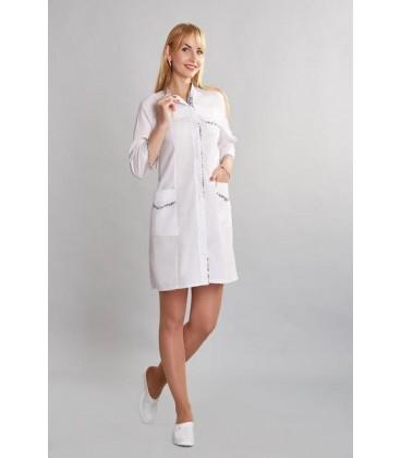 медицинский женский халат муза 0012