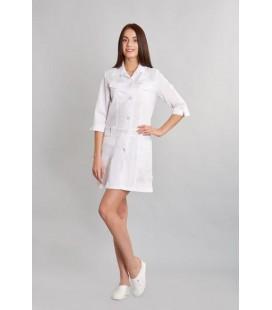 Медицинский женский халат 0015-1 Анфиса габардин
