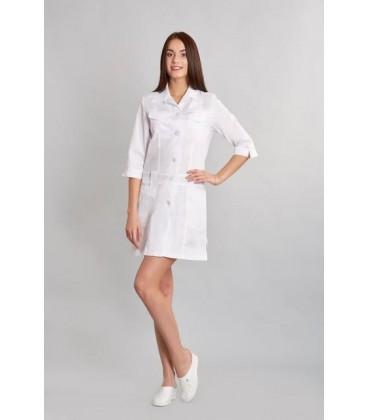 медицынский женский халат анфиса 0015