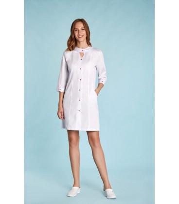 медицынский женский халат зоряна 0020