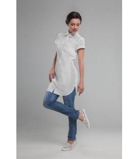 медицинский халат 1310 Белла белый