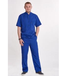 мужской медицинский костюм Марик 1341 электрик
