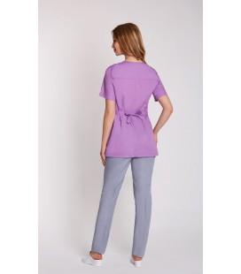 женская медицинская куртка Ванда 1351-2 голубой