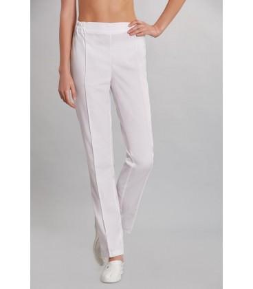 женские медицинские брюки 1360 белый