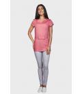 женская медицинская куртка Стэлла 1354-4 розовый