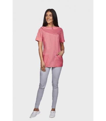 женская медицинская куртка Ванда 1351-3 розовый