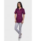 женская медицинская куртка Грация 1355-7 фиолетовый