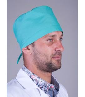 медицинская мужская шапка Х-2303 зелёный