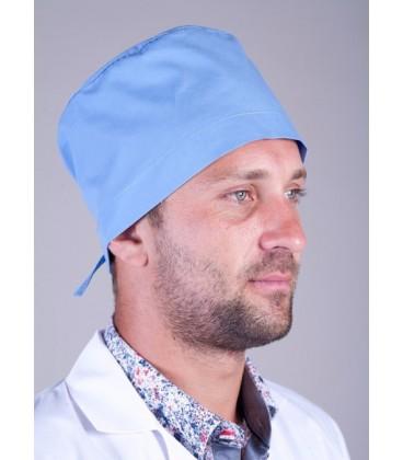 медицинская мужская шапка Х-2304 светло синий