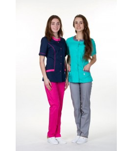 Женский медицинский костюм 0054-8 Лара синий