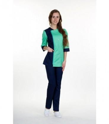 женский медицинский костюм 0058-4 Ольга батист