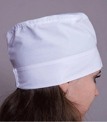 медицинская женская шапка 2301 белый
