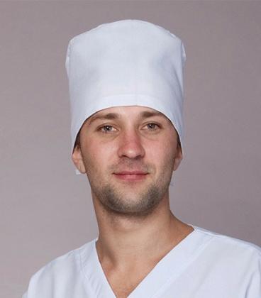 медицинская мужская шапка Х-3304 белый