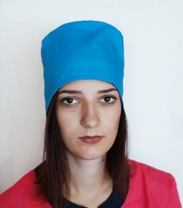 медицинская женская шапка 2518-1 бирюза