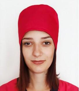 медицинская женская шапка 2518-3 малина