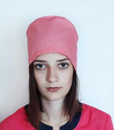 медицинская женская шапка 2518-4 розовый