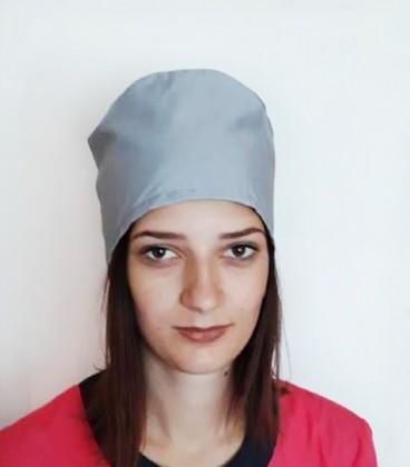 медицинская женская шапка 2518-5 серый