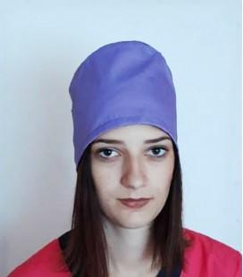 медицинская женская шапка 2518-7 фиолетовый