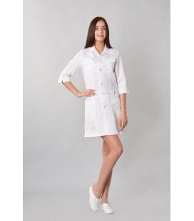 медицинский женский халат анфиса 0015-2 батист