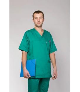 мужской медицинский костюм 3212 зеленый