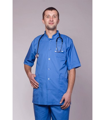 мужской медицинский костюм 3210 синий
