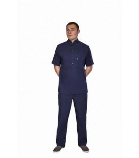 мужской медицинский костюм Марик 1341-1 синий