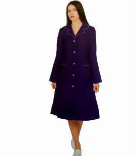 медицинский женский халат 0014-1 Анна темно синий