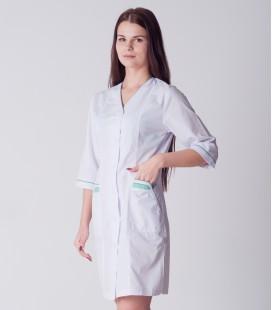 медицинский халат 2026 с яркими карманами