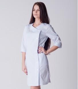 медицинский халат 5129 с вышивкой