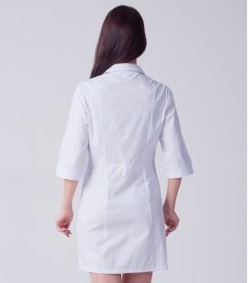 медицинский халат 4030 с воротником