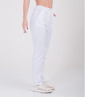 Женские медицинские брюки Черри 1369-1 белый