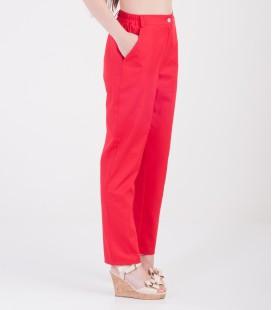 Женские медицинские брюки Черри 1369-2 красные