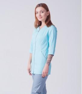 Медицинский женский костюм 5240 на замке1