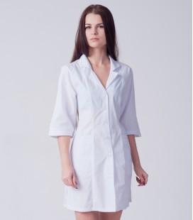 медицинский халат 4190 с воротником
