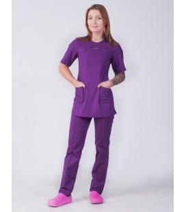 Медицинский женский костюм 4313 хирургический
