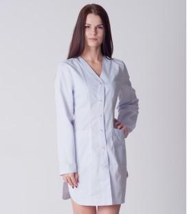 медицинский халат 5135 с длинным рукавом