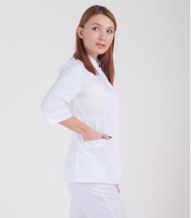 Медицинская куртка Робиния 1370-5 белая