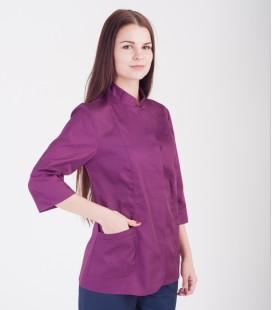 Медицинская куртка Робиния 1370-8 фиолетовая