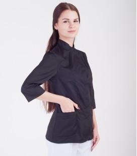 Медицинская куртка Робиния 1370-10 черная