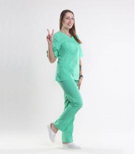 Медицинский костюм 0057-6 Астра трава