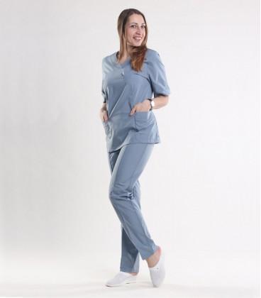 Медицинский костюм 0057-7 Астра серый