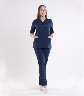 Медицинский костюм 0057-3 Астра синий