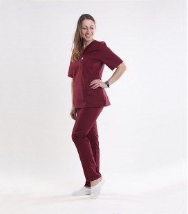 Медицинский костюм 0057-4 Астра бордо