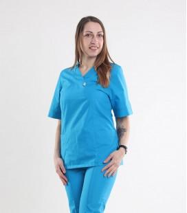 Медицинский костюм 0057-2 Астра бирюза