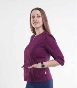 Медицинская куртка Мирта 1371-7 фиолет