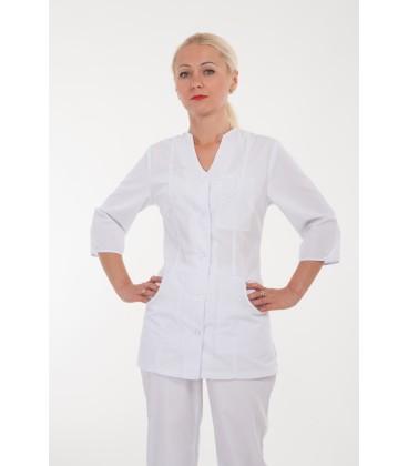 Медицинский женский костюм 4242 белый
